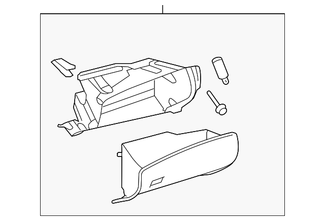 Glove Box Assembly - Toyota (55303-48151-E0)
