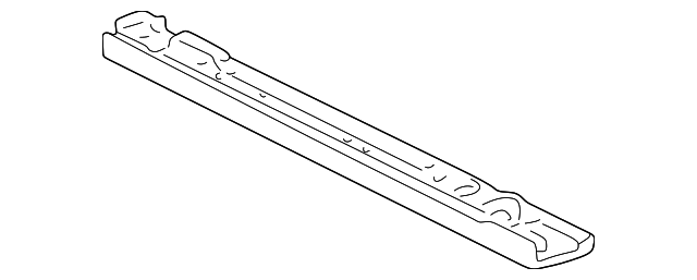 OEM Honda 60440-S2A-A00ZZ - Lower Tie Bar