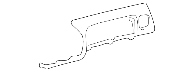 Trim Panel - Toyota (55401-08900-B0)