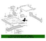 Floor Extension - Toyota (57606-35090)