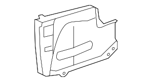 Side Extension - Toyota (58317-35030)