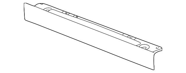 22706966 lower deflector for 2005 pontiac grand am   gm