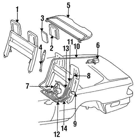 Mercedes Benz E320 Engine