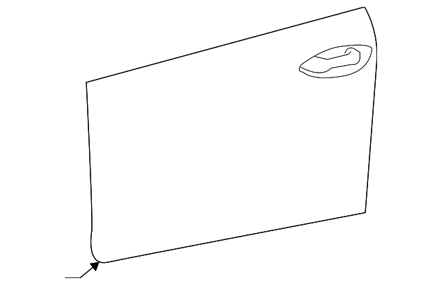 Outer Panel - Toyota (67111-02220)