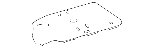 Spare Cover - Toyota (64770-33110)
