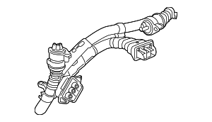 OEM Honda 1F000-5K0-003 - Cable Assembly, Three-Phase High Voltage