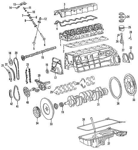 mercedes benz 560sel engine diagram