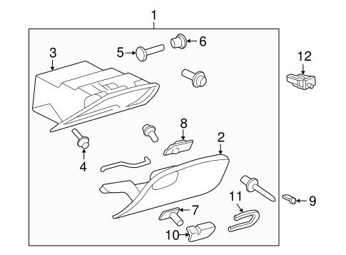 Instrument panel parts for 1999 pontiac grand am 1999 pontiac grand am interior parts