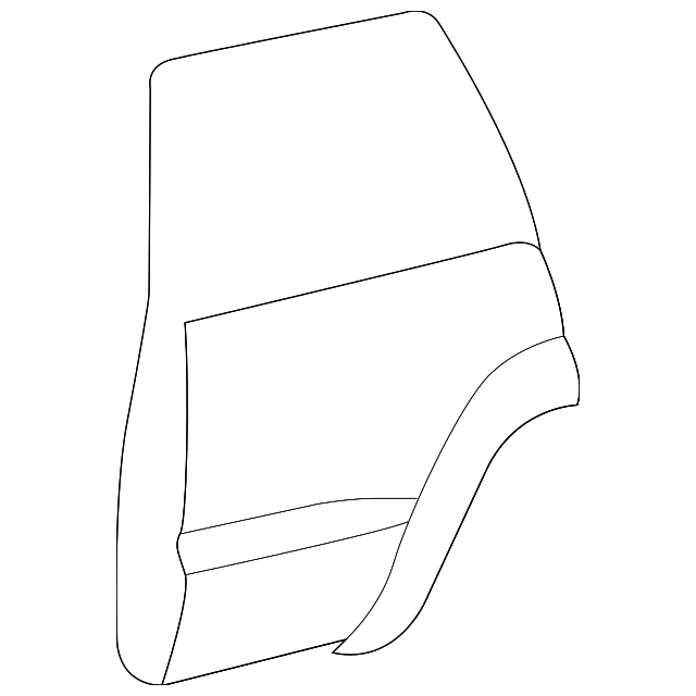 Door Shell - Toyota (67004-60560)