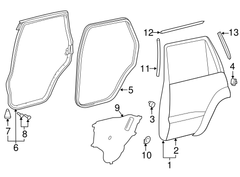 Door Shell - Toyota (67003-60431)