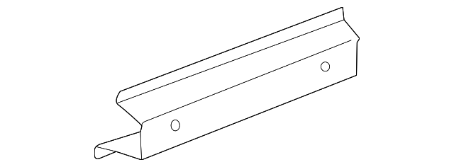 OEM Honda 65141-S2A-A50ZZ - Sill, R Front Inside
