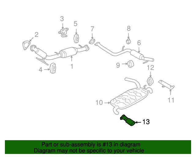 Tail Pipe Extension - Volvo (31303980)