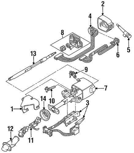 service manual  1991 honda civic tilt steering lever