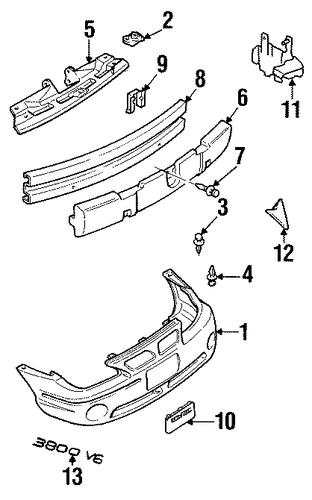 oem bumper  u0026 components