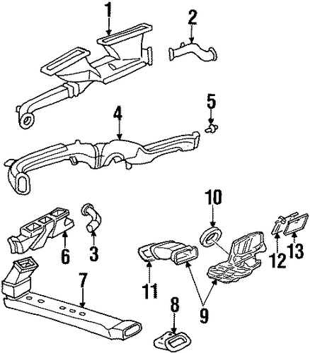 199946 Northstar Swaps What Years Interchangeable Differences moreover 5 3500 Belt further Saab 9 7x Engine Diagrams Wiring further Stabilizer Bar And  ponents Scat likewise Ducts Scat. on oldsmobile aurora 3 5 engine
