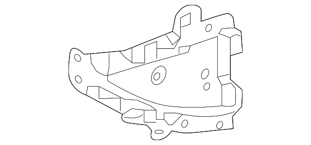 Gusset - Toyota (61103-47060)