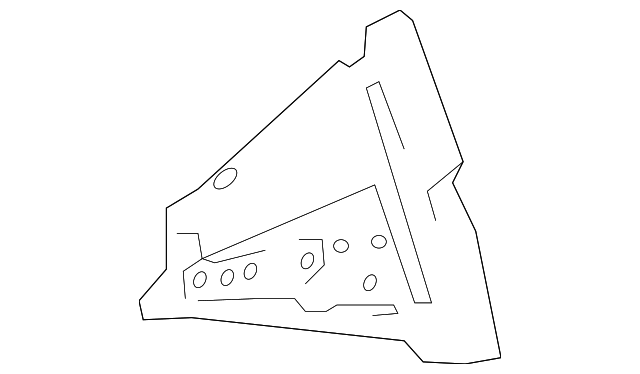 Reinforced Plate - Toyota (61159-47020)