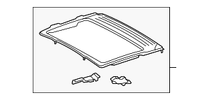 Sunroof Reinforced - Toyota (63104-0C020)