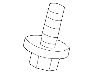 Lower Column Cover Screw - Honda (90101-S2K-000)