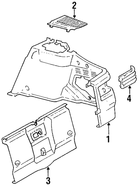 Luggage Compartment - Toyota (64740-20070-02)