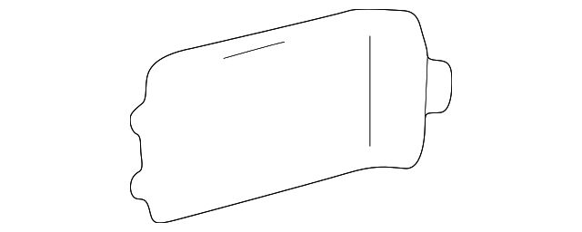 Rear Trim - Toyota (64716-60030-A1)