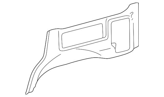 Lower Quarter Trim - Toyota (62503-60080-A0)