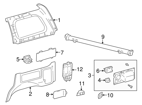 Cup Holder - Toyota (66907-60010-B1)