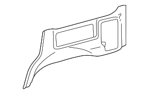 Lower Quarter Trim - Toyota (62503-60030-B0)