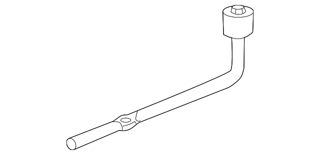 OEM Honda 89211-S05-003 - Lug Wrench