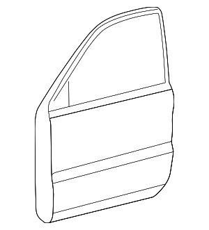 Door Shell - Toyota (67002-35532)