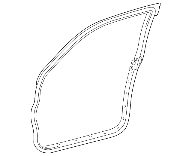 Door Weather-Strip - Toyota (67861-35090)