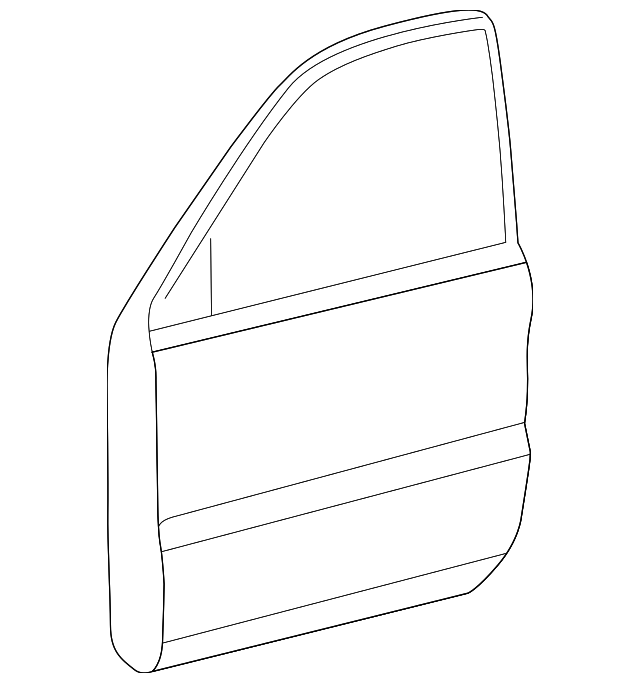 Door Shell - Toyota (67001-35512)