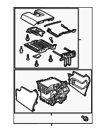 Console Assembly - Toyota (58910-0C280-C4)