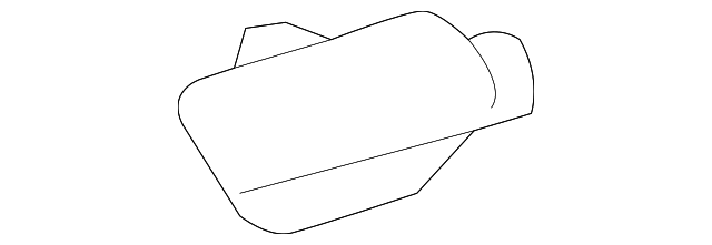 Roof Reinforced Seal - Toyota (61668-0E020)