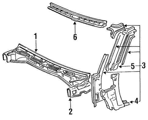 Extension - Toyota (55713-14090)
