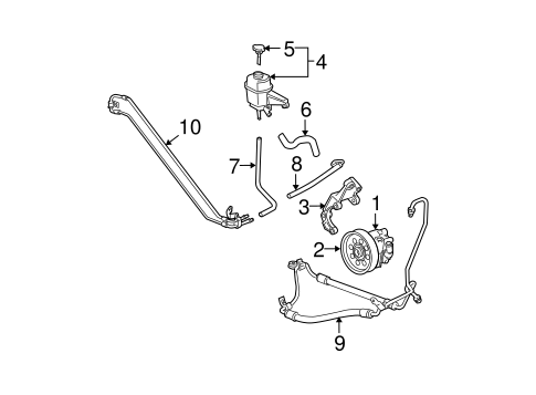 Water Pump Scat further Gm Power Steering Pump 25770107 as well Water Pump Scat besides Gm Side Baffle 15139387 in addition Radiator And  ponents Scat. on gm 6l water pump 3
