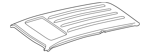 Roof Panel - Toyota (63111-60461)