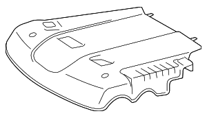 Engine Cover - Toyota (11259-0P011)
