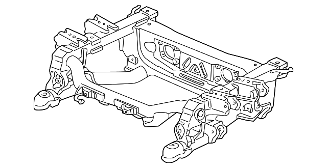 OEM Honda 50300-S2A-A02 - Beam, Rear