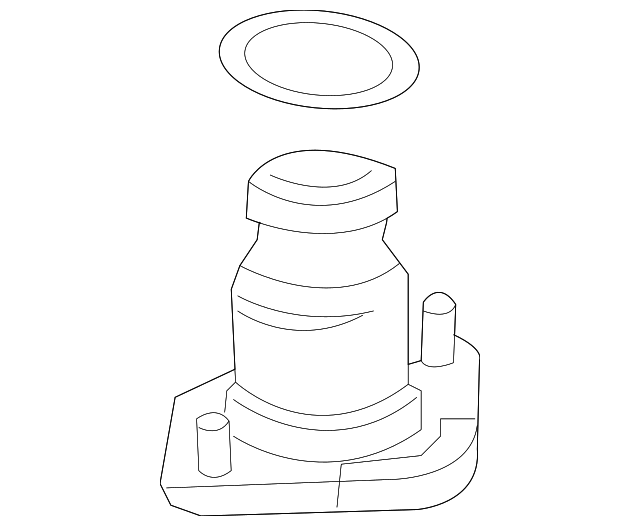 OEM Honda 52675-S7A-004 - Mount Base