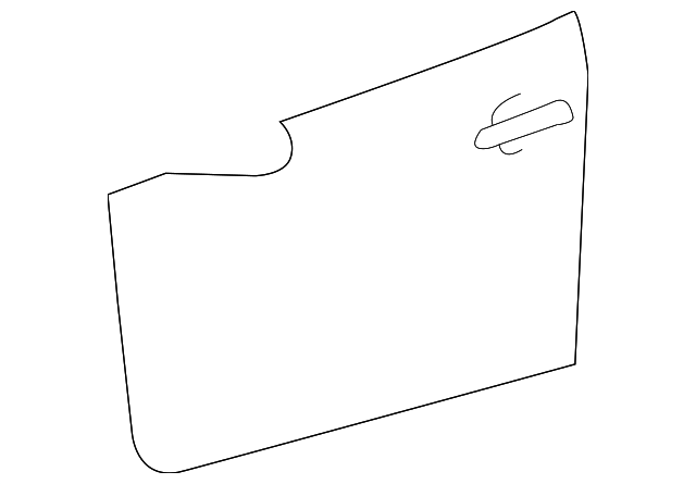 Outer Panel - Toyota (67111-52230)