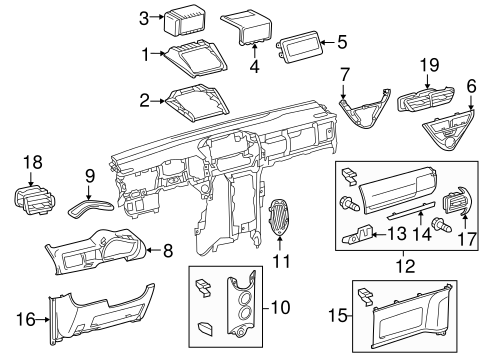 Housing - Toyota (55422-74020-C1)