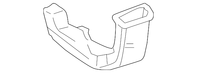 Heater Duct - Toyota (58862-35010)