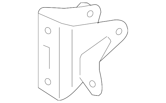 Rear Mount Bracket - Toyota (12321-28240)