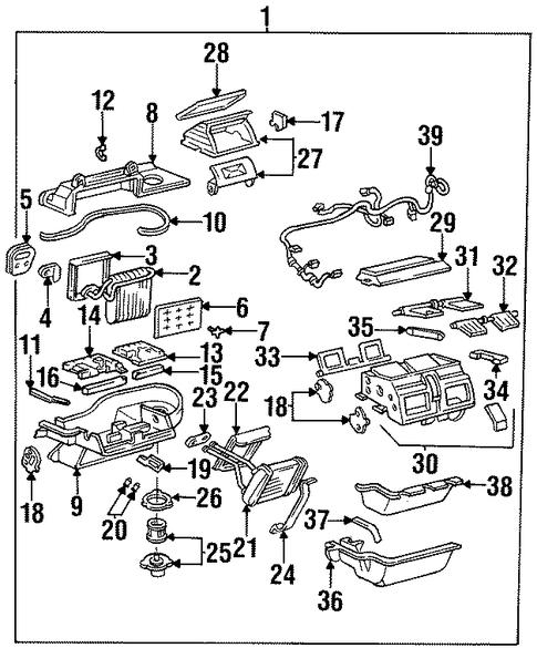 blower motor  u0026 fan for 1997 buick riviera