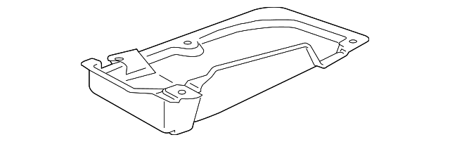 Under-Body Shield - Toyota (58723-0E040)