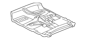 Carpet - Toyota (58510-42430-E0)