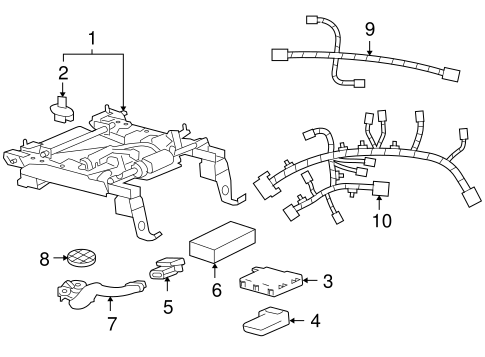 Engine Harness 98 Pontiac Bonneville on vw touareg wiring diagrams