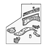 Apron Assembly - Toyota (53702-35A12)