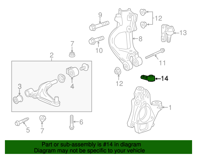 Lower Ball Joint - GM (13230777)